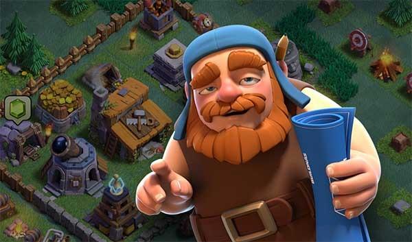 Clash of Clans base del constructor
