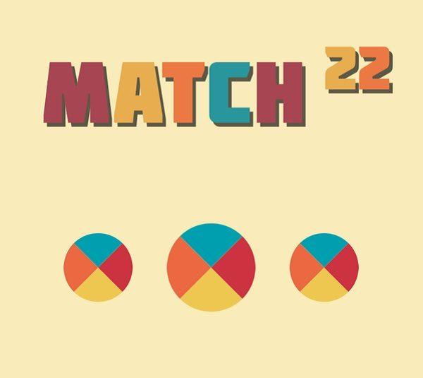 Match 22, un puzzle de colores diferente