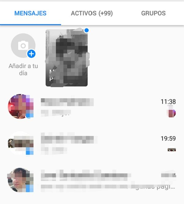 columnas facebook messenger