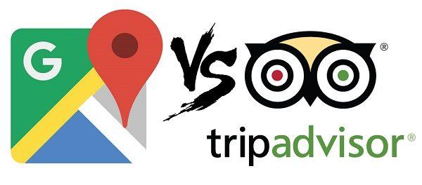 Google Maps o Tripadvisor, ¿en cuál busco restaurante?