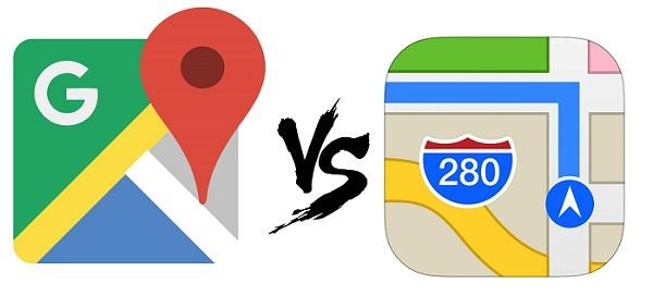 Apple Maps contra Google Maps, ¿cúal es mejor?