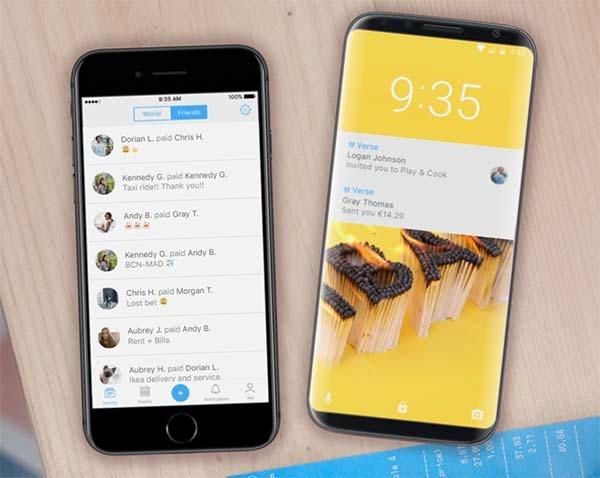 Verse, la app española de pagos entre usuarios