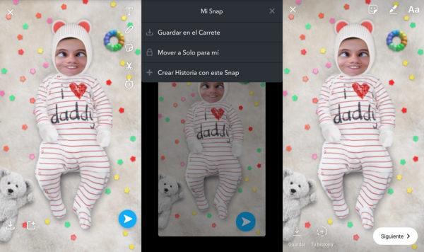 Filtros de Snapchat en Instagram