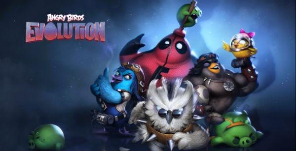 Así es Angry Brids Evolution, el nuevo juego de los Angry Birds