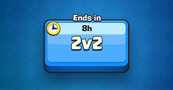 batallas 2c2 Clash Royale
