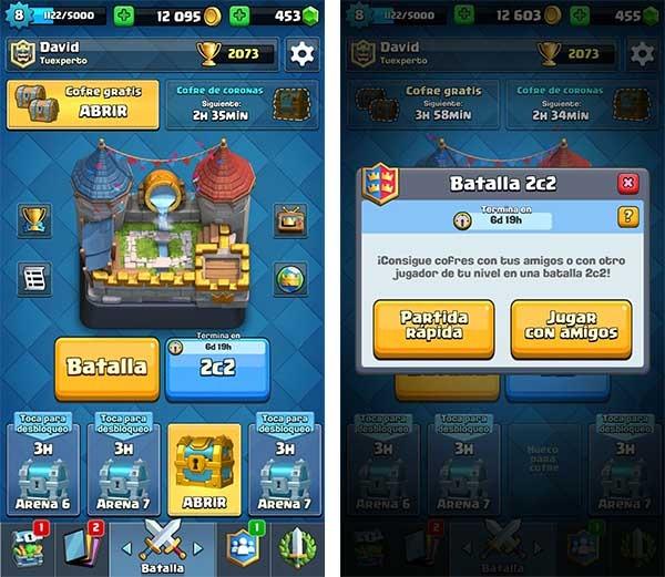 Clash Royale 2c2