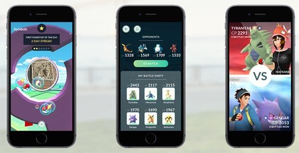 gimnasios Pokémon motivación