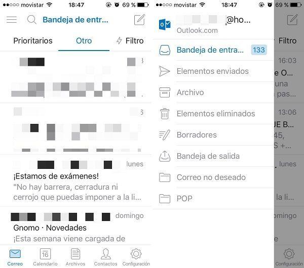 outlook correo app