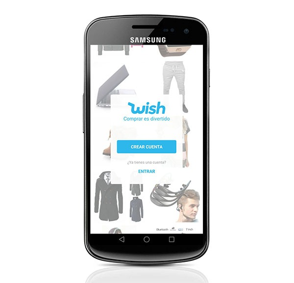 Wish, la tienda de ropa y productos con ofertas