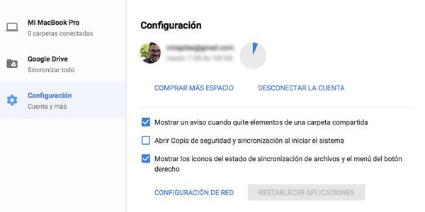 copia de seguridad Google profesionales