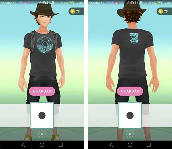 Pokémon GO Fest camiseta