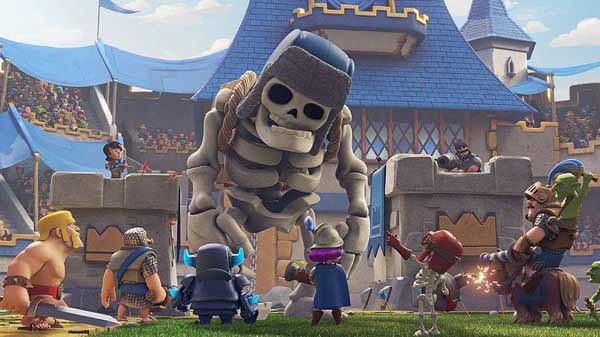 Clash Royale Esqueleto gigante