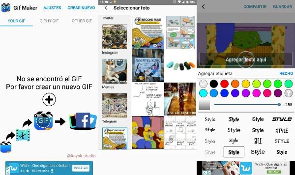 GIF Maker para Android