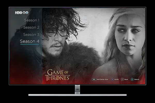 Samsung lanza una app de HBO para sus Smart TV