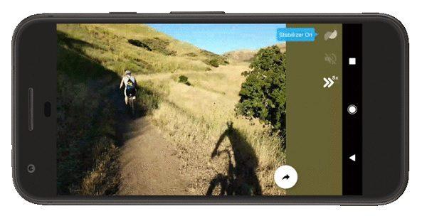 Cómo reducir el temblor de tus vídeos con Motion Stills