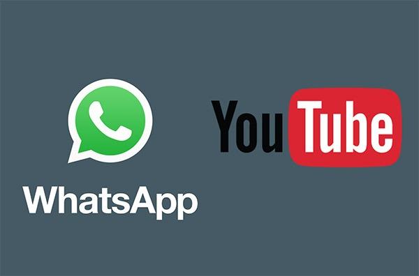 WhatsApp permitirá ver vídeos de YouTube sin salir de los chats