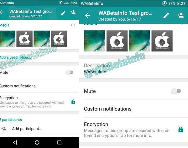 nuevas funciones de grupos de whatsapp