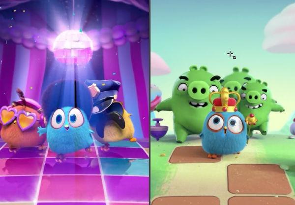 Claves y consejos para triunfar en Angry Birds Match