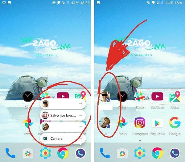 accesos directos whatsapp