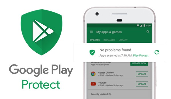 Android se refuerza con su antivirus Google Play Protect