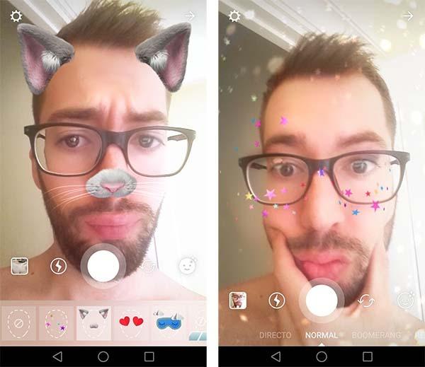 Nuevas máscaras para Instagram Stories