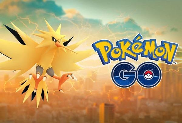 Ya puedes capturar al pokémon legendario Zapdos de Pokémon GO
