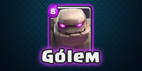 Clash Royale Gólem con nombre