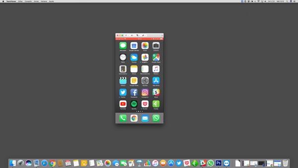 como ver pantalla iPhone en ordenador ya conectado
