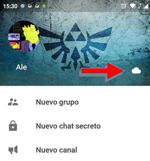 Trucos Telegram chat contigo mismo