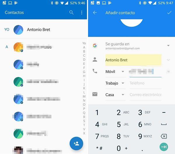 crear contacto nuevo whatsapp