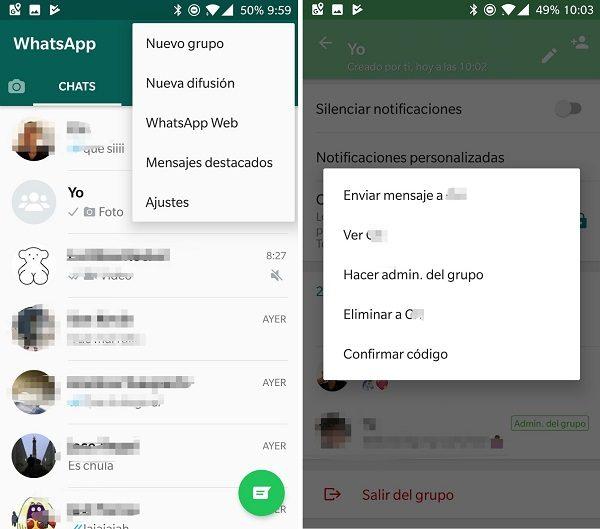 crear nuevo grupo whatsapp