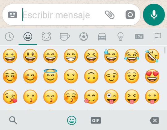 WhatsApp actualiza sus emoticonos Emoji en Android