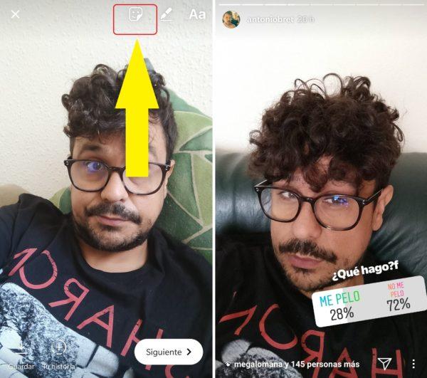 como hacer una encuesta en instagram