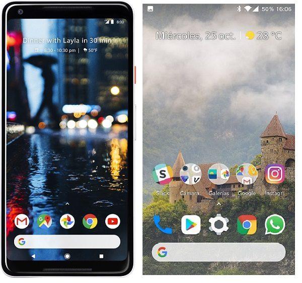 Cómo hacer que tu móvil Android luzca como un Pixel 2