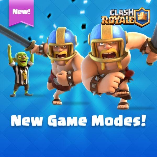 modos de juego clash royale