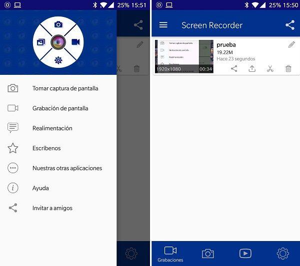 5 opciones para grabar la pantalla de tu móvil Android 1