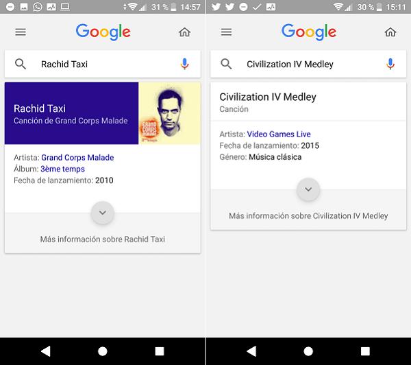 asistente google música