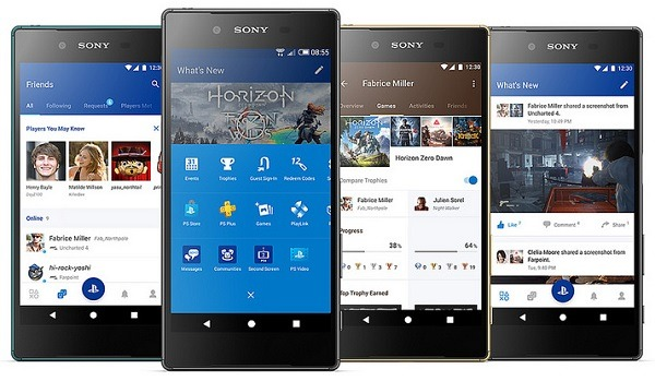 PlayStation App y Segunda Pantalla de PS4, estas son sus novedades