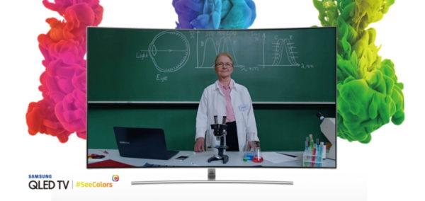 Samsung lanza una app para que los daltónicos disfruten más de sus TV QLED