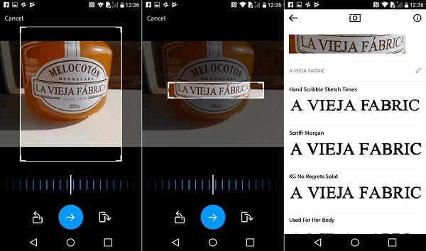 MyFonts, una aplicación para reconocer fuentes de escritura 2