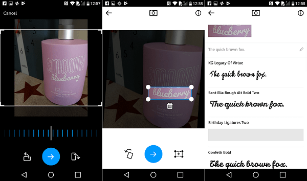 MyFonts, una aplicación para reconocer fuentes de escritura 3