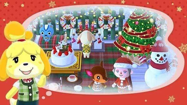 Cómo decorar tu parcela de Animal Crossing Pocket Camp con adornos de Navidad