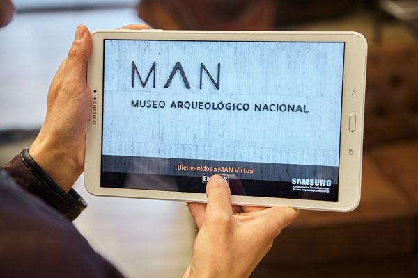 MAN Virtual, la app virtual de Samsung para visitar el Museo Arqueológico