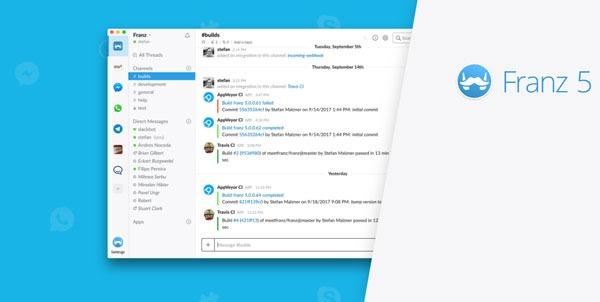 Cómo ver los mensajes de WhatsApp, Telegram, Facebook y Slack en la misma aplicación