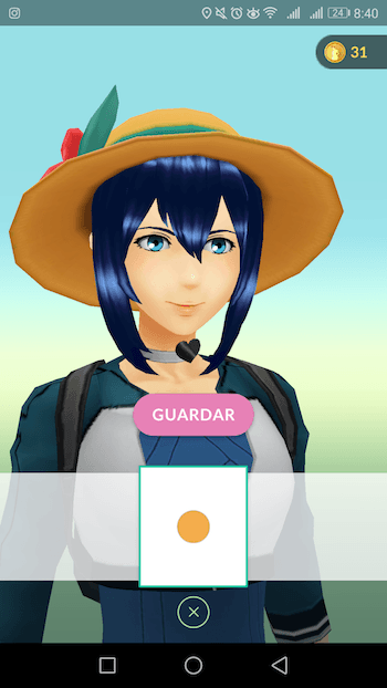 sombrero tropical pokemon go