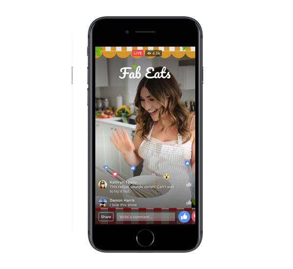 Así es la nueva aplicación de Facebook para crear vídeos