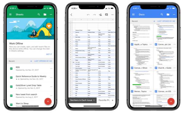 Documentos de Google ya es compatible con el iPhone X