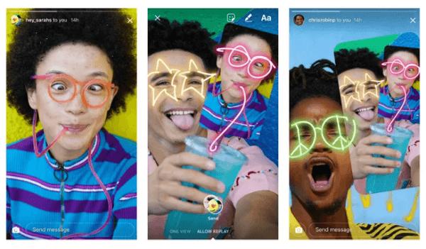 Instagram permite trolear a los amigos haciendo dibujos en sus fotos