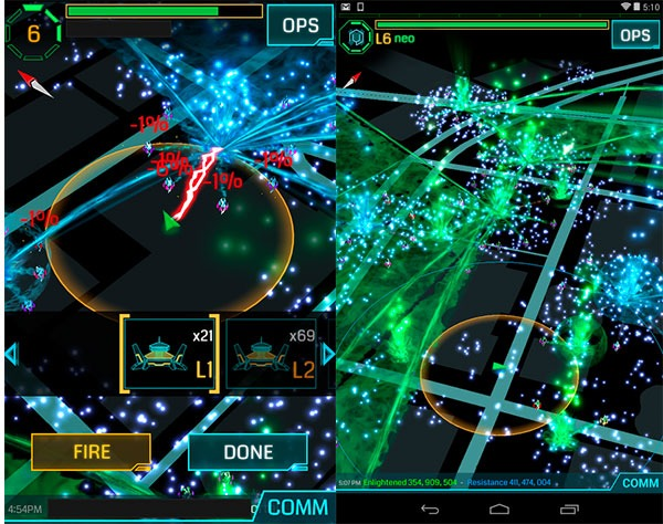 juego realidad aumentada Harry Potter Niantic Ingress