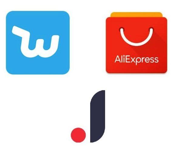 Joom, Wish y Aliexpress, las tres apps de compras que están triunfando en Android